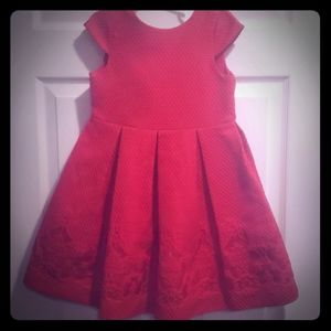Size 4 Janie and Jack red dress